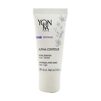 Yonka Contours Alpha-Contour With Fruit Acids -Wrinkle, Fine Line (For Eyes & Lips) 15ml/0.55oz