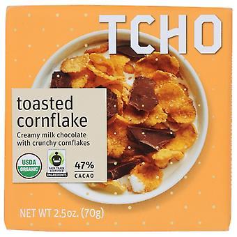 Tcho Bar Chc Drk Mlk Tstd Corn, حالة 12 X 2.5 Oz