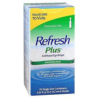 Refresh Refresh Plus Lubricant Eye Drops Einwegbehälter, 70 Anzahl