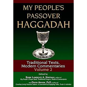 My Peoples Passover Haggadah by Hoffman & Lawrence A.Arnow & David