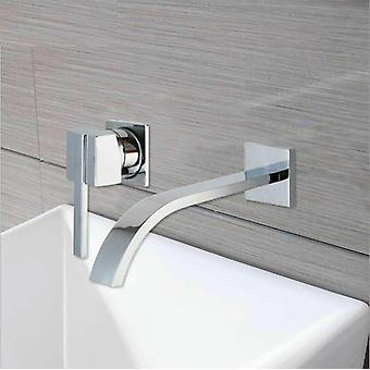 Wall Mounted Stream Nozzle Hot And Cold Water Bathroom Faucet