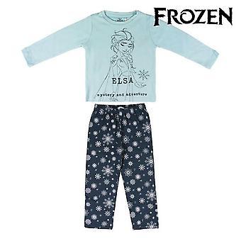 Children's Pyjama Frozen 74741 Turquoise Navy blue