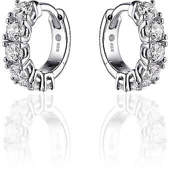 Gisser Jewels Örhängen I02E001 - Gerhodineerd sterling silver