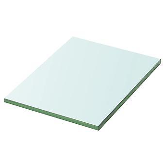 vidaXL الجرف زجاج شفاف 20 سم × 15 سم