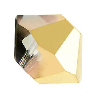Preciosa tjekkisk krystal, Bicone Perle 3mm, 36 stykker, Aurum Half