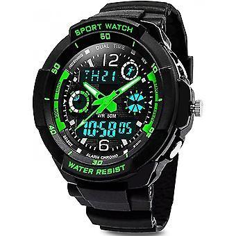 Digital Watches Waterproof Sports Alarm Clock Timer Led Light Electronic Shockproof