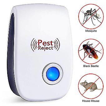1-6pcs Ultrasonic Electronic Pest Repeller Control Rat Mice Fly Reject