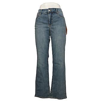 NYDJ Damen Petite Jeans Marilyn Straight Uplift In Cool Blue A395681