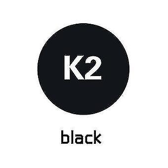 1m lengte reclame afdrukken warmteoverdracht belettering film kledingstuk afdrukken (zwart)