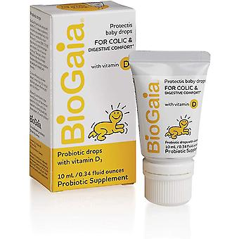 BioGaia ProTectis Drops with Vitamin D, 10ml
