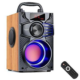 Bluetooth 10w Bärbar -trådlös Stereo Bass Big Party Högtalare
