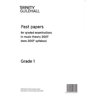Trinity Past Papers: Theory of Music (2007) Gd 1