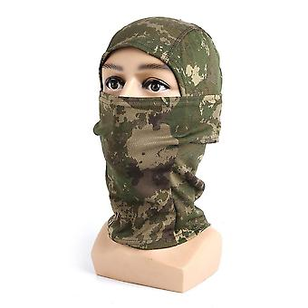Camouflage outdoor cycling hunting hood protection balaclava head face cover