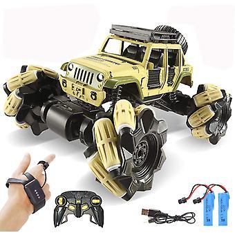 Kauko-ohjattava auto, 1:16 Metal Drift Rc Autot 360 Pyörivä Monster Truck
