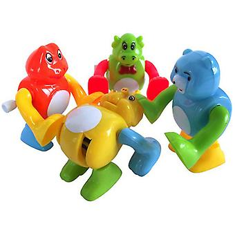 4 Pcs Wind Up Toys Cute Jumping Frog