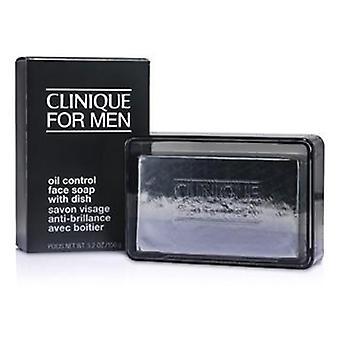 סבון בקרת שמן קליניק עם צלחת-150g/5.2 עוז
