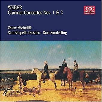 C.M.Von Weber - Weber: Clarinet Concertos Nos. 1 & 2 [CD] USA import