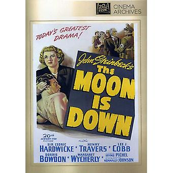 Luna está abajo [DVD] USA importar