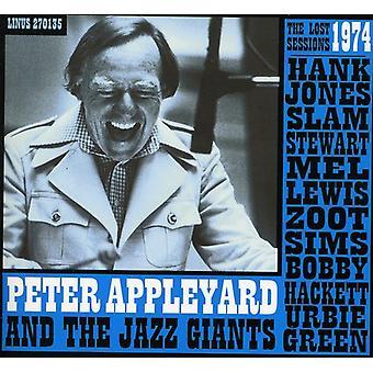 Peter Appleyard - Lost 1974 Sessions W/Hank Jones Slam st [CD] USA import