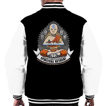 Spirituele retraite Avatar de laatste Airbender mannen Varsity Jacket