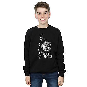 Muddy Waters Boys Mono Distressed Sweatshirt