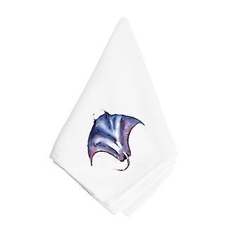 Carolines Schätze 8353NAP blaue Stingray Serviette