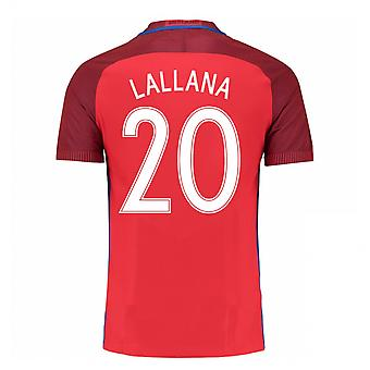 2016-17 Engeland weg Shirt (Lallana 20) - Kids