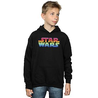 Star Wars drenge Rainbow Logo hættetrøje