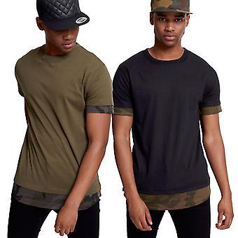 Urban classics - muotoinen Camo upotettavat pitkä t-paita