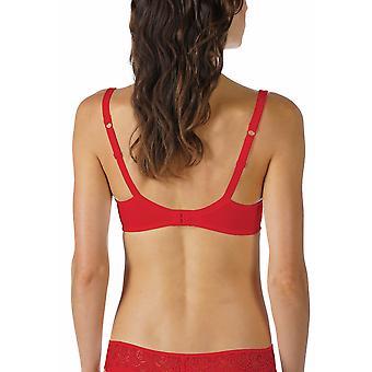 Mey 74808-410 kvinnors Allegra Ruby röd färg bygel Full kopp BH