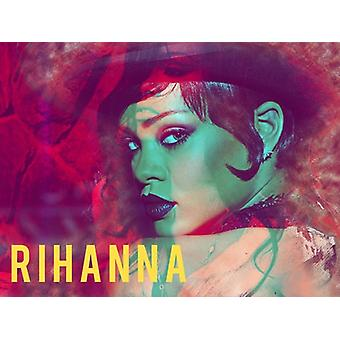 Rihanna Poster Photo Art Print (24x18)