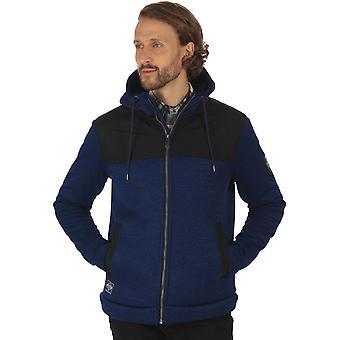Efeito água repelente velo jaqueta de malha regata Mens Ryne poliéster