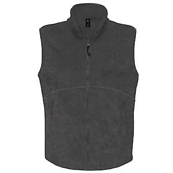 B&C Mens Traveller Outdoor Raw Gilet Bodywarmer Fleece Jacket