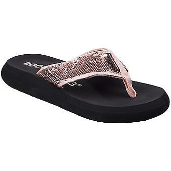 Slip Rocket Dog Womens/dames Spotlight Casual Summer Flip Flops