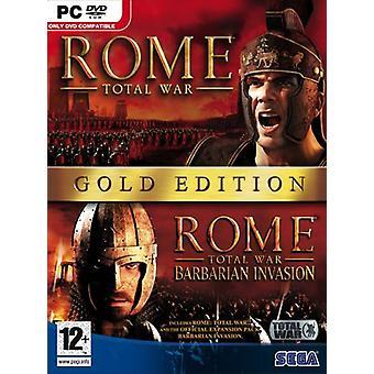 Rome Total War Gold Edition (PC DVD)-nytt
