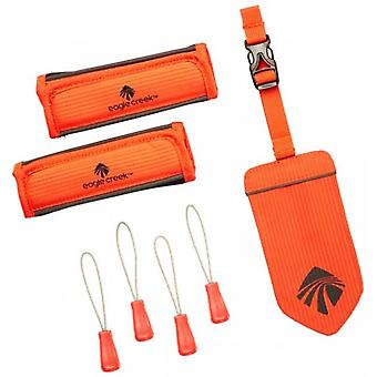 Eagle Creek reflexné batožiny ID set-plameň oranžová
