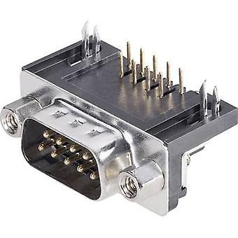 BKL elektroniske 10120038 D-SUB pin stripe 90 ° antall pinner: 15 skrive (vinkelrett) 1 eller flere PCer