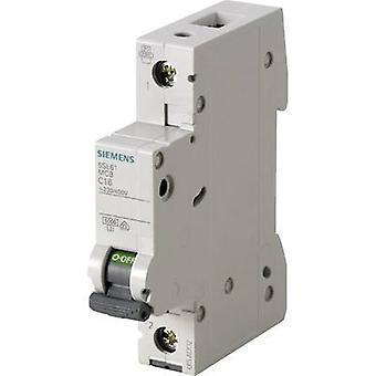 Siemens 5SL6116-7 disjoncteur 1 pôle 16 A 230 V, 400 V