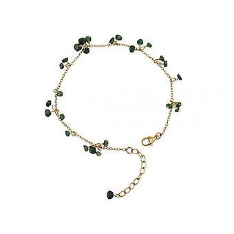 Smaragdarmband grün Smaragd Armband vergoldet