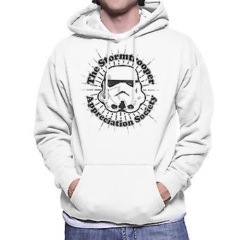 Moletom com capuz original Stormtrooper apreciação sociedade masculina