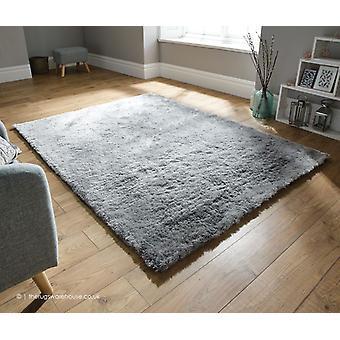 Pragt sølv tæppe