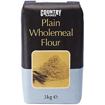 Country Range Plain Brown Wholemeal Flour