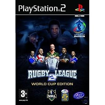 Rugby League 2 World Cup Edition (PS2) - Uusi tehdas sinetöity