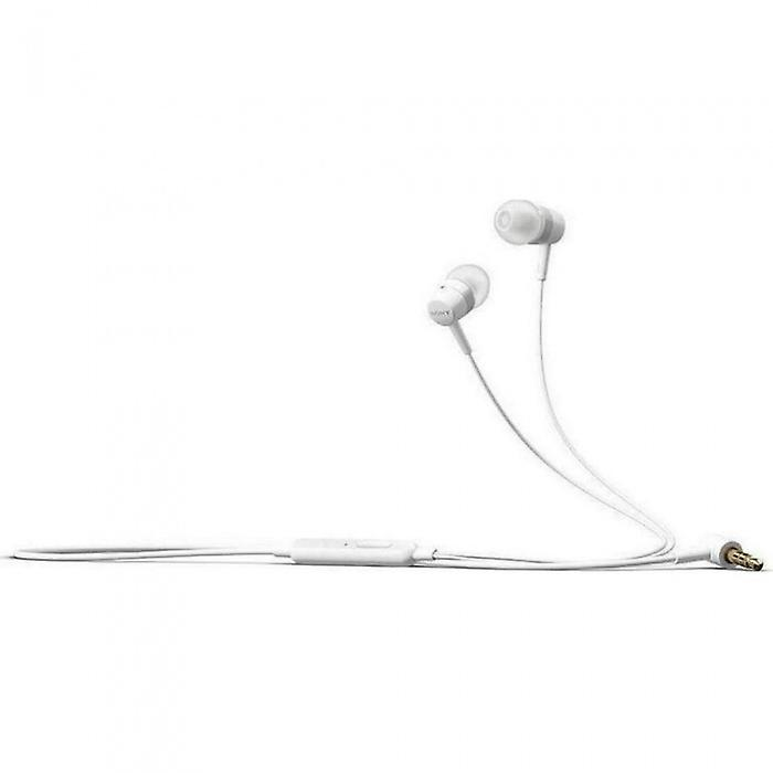 Sony MH-750 stereo HF headset earphones with remote control - white