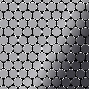 Metalowa mozaika ze stali nierdzewnej Alloy Dollar-S-S-MM