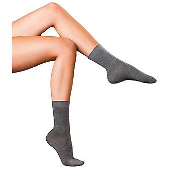 Falke Finest No1 Cashmere Socks - Light Grey Melange