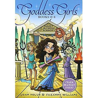 Bogini dziewczyny książek #1-4