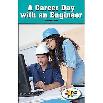 Een dag van de loopbaan met een ingenieur (Rosen Real lezers: stuurpen en stoom-collectie)