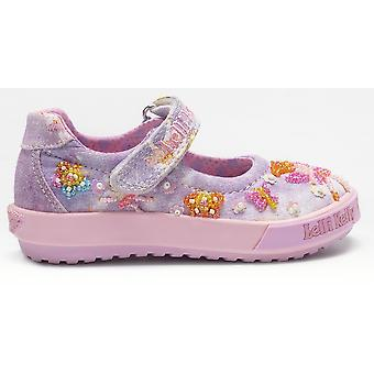 Lelli Kelly Fairy Baby LK9012 Lilac Canvas Shoes