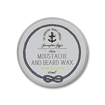 The Brighton Beard Company Firm Moustache Wax - Jasmin and Lemon - 60ml